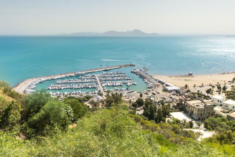 Acceso de Sidi Bou dicho fotos de archivo
