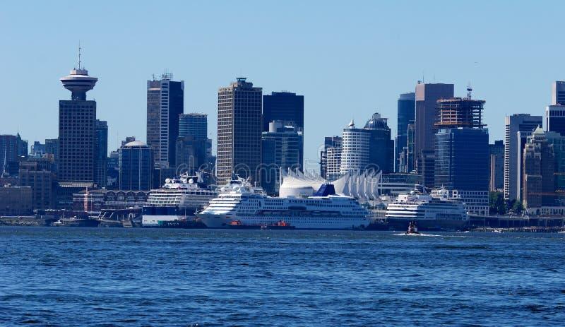 Acceso de Vancouver fotografía de archivo libre de regalías