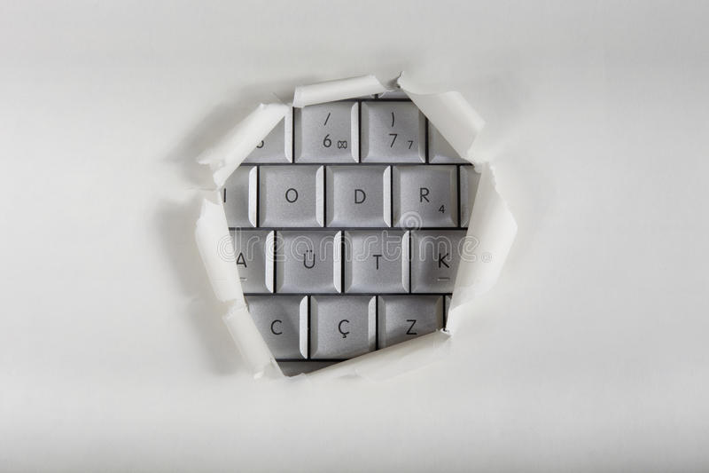 Acceso del ordenador imagen de archivo