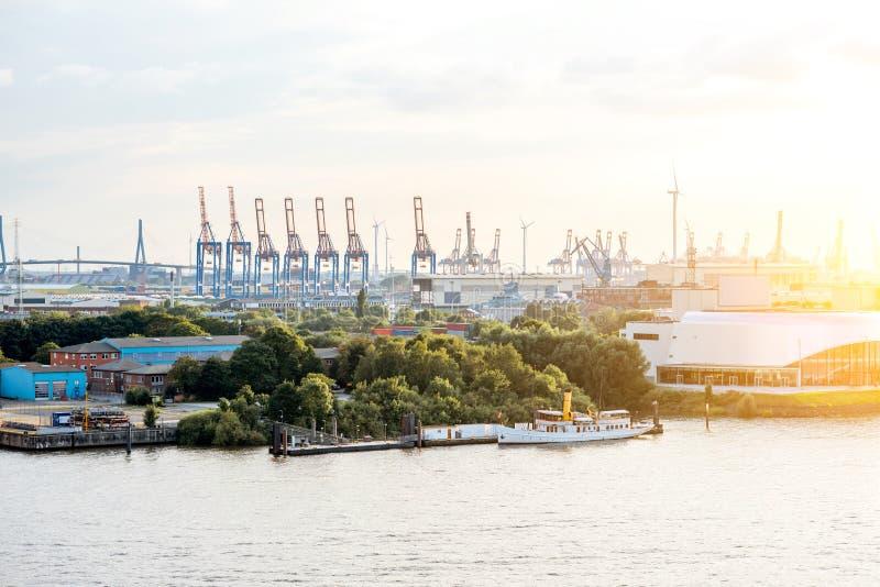 Acceso en Hamburgo foto de archivo libre de regalías