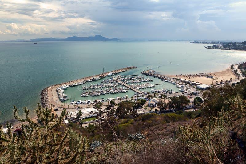 Acceso en los BU dichos, Túnez de Sidi imagenes de archivo