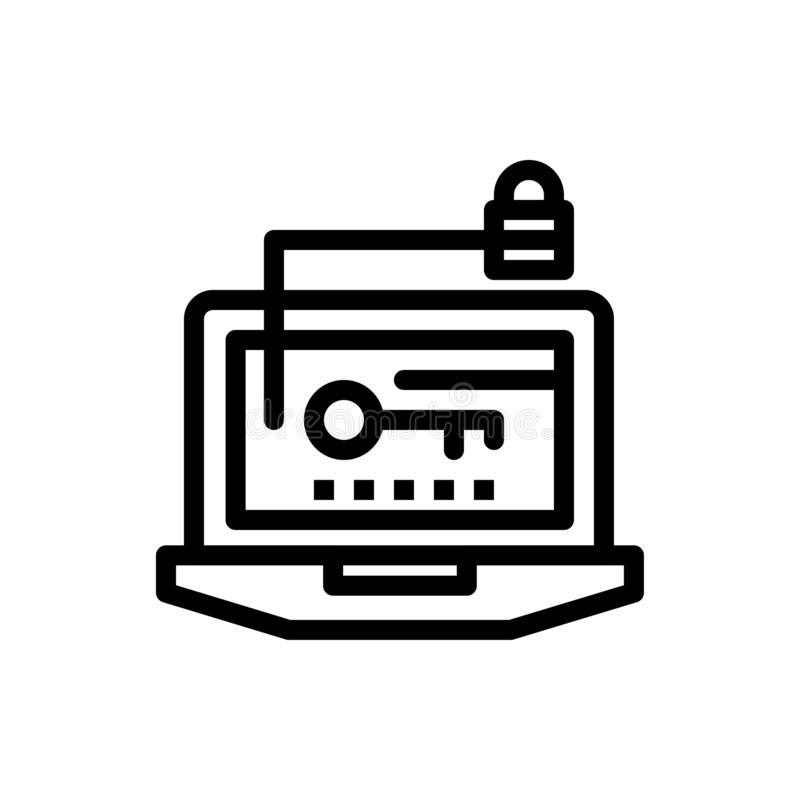Acceso, ordenador, hardware, llave, azul del ordenador portátil y transferencia directa roja y ahora comprar la plantilla de la t libre illustration