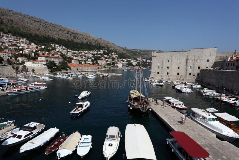 Acceso viejo de Dubrovnik, Croatia imagenes de archivo