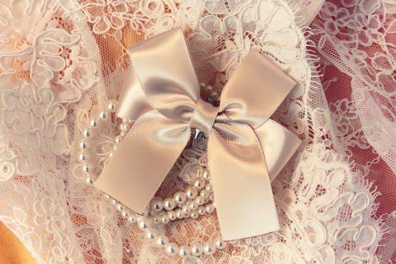 Accesorio de la boda imagen de archivo libre de regalías
