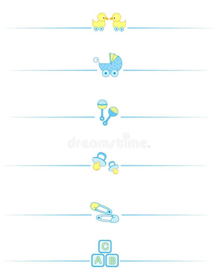 Accesorios del bebé libre illustration
