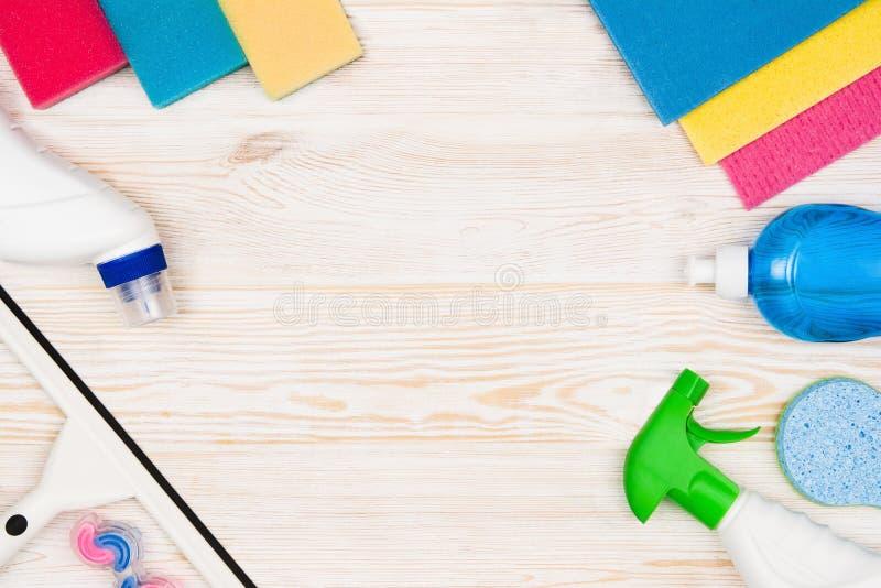 Accesorios del fondo del concepto de la limpieza foto de - Limpieza a fondo casa ...
