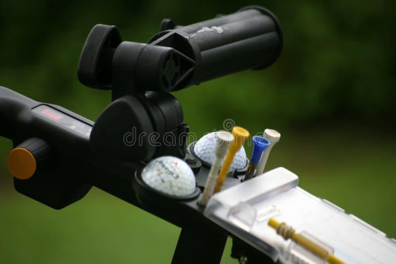Accesorios del golf foto de archivo libre de regalías
