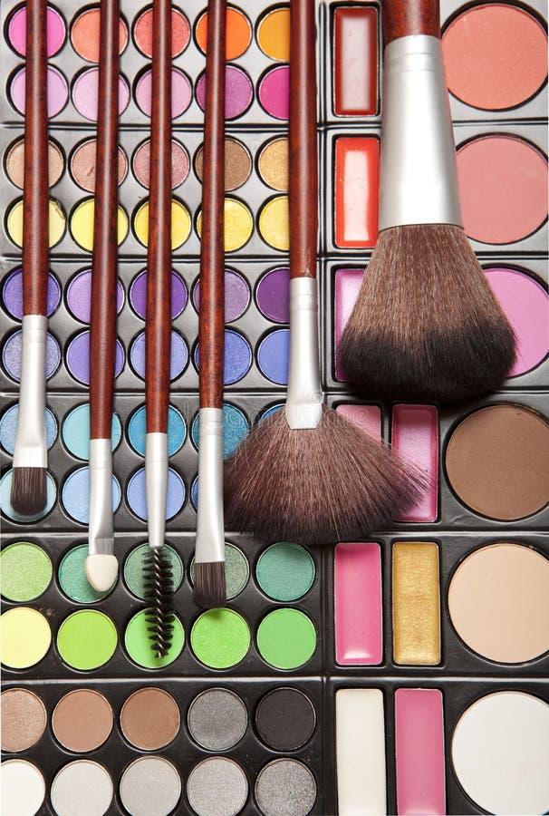 Accesorios del maquillaje fotografía de archivo