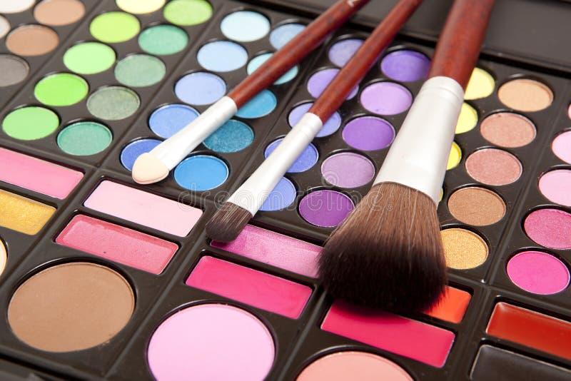 Accesorios del maquillaje fotos de archivo