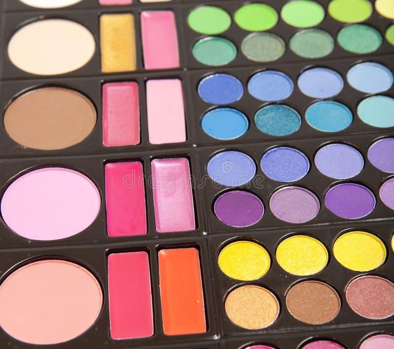 Accesorios del maquillaje imagen de archivo