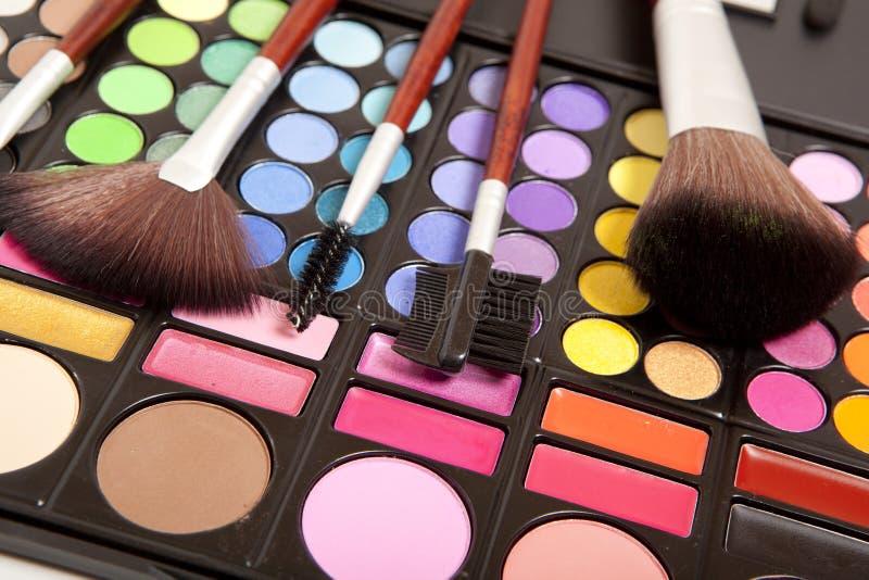 Accesorios del maquillaje imagenes de archivo