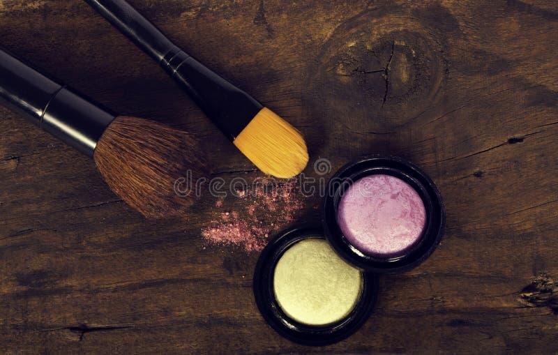 Accesorios del maquillaje fotos de archivo libres de regalías