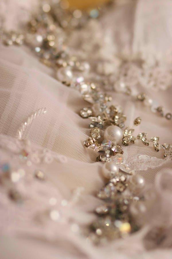Accesorios del vestido fotos de archivo