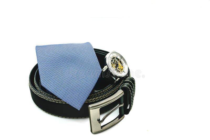 Accesorios elegantes para el hombre de negocios foto de archivo