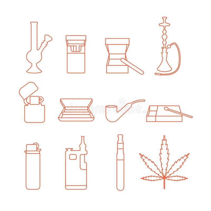 Accesorios que fuman libre illustration