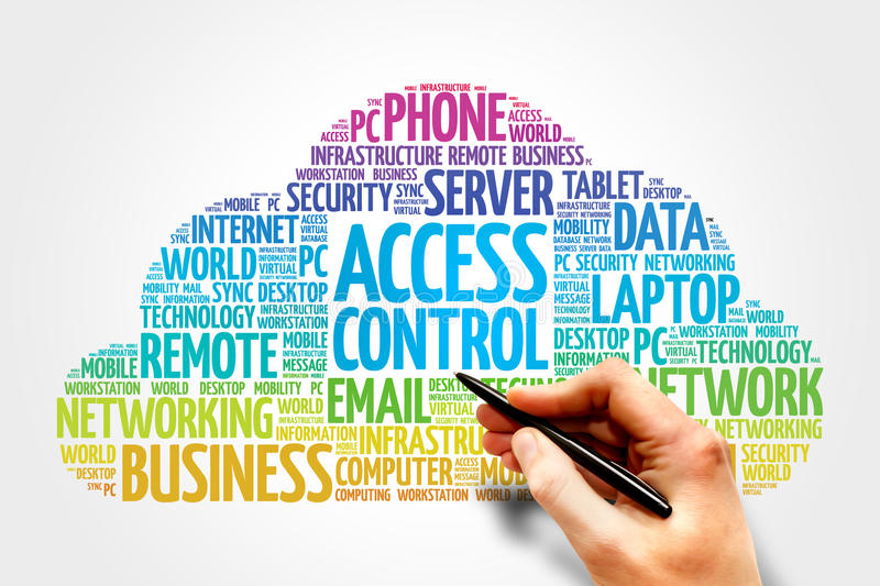 Access control royalty free stock image