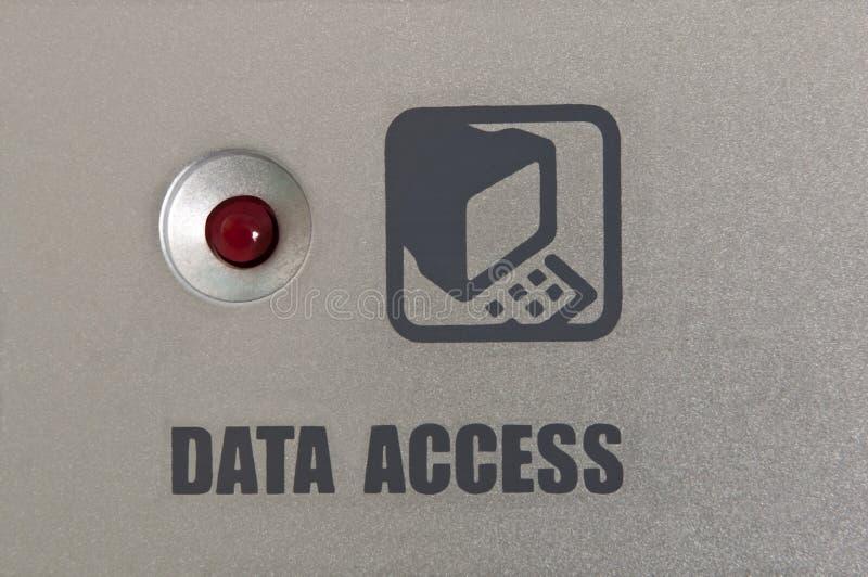 access data royaltyfri bild