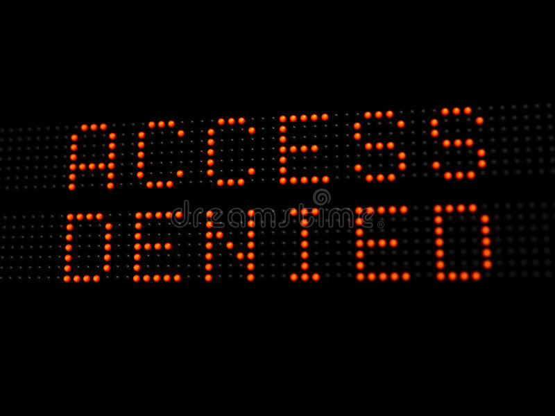 Download Access Denied Stock Photos - Image: 18442933