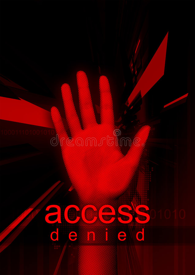Download Access Denied Stock Images - Image: 6023504