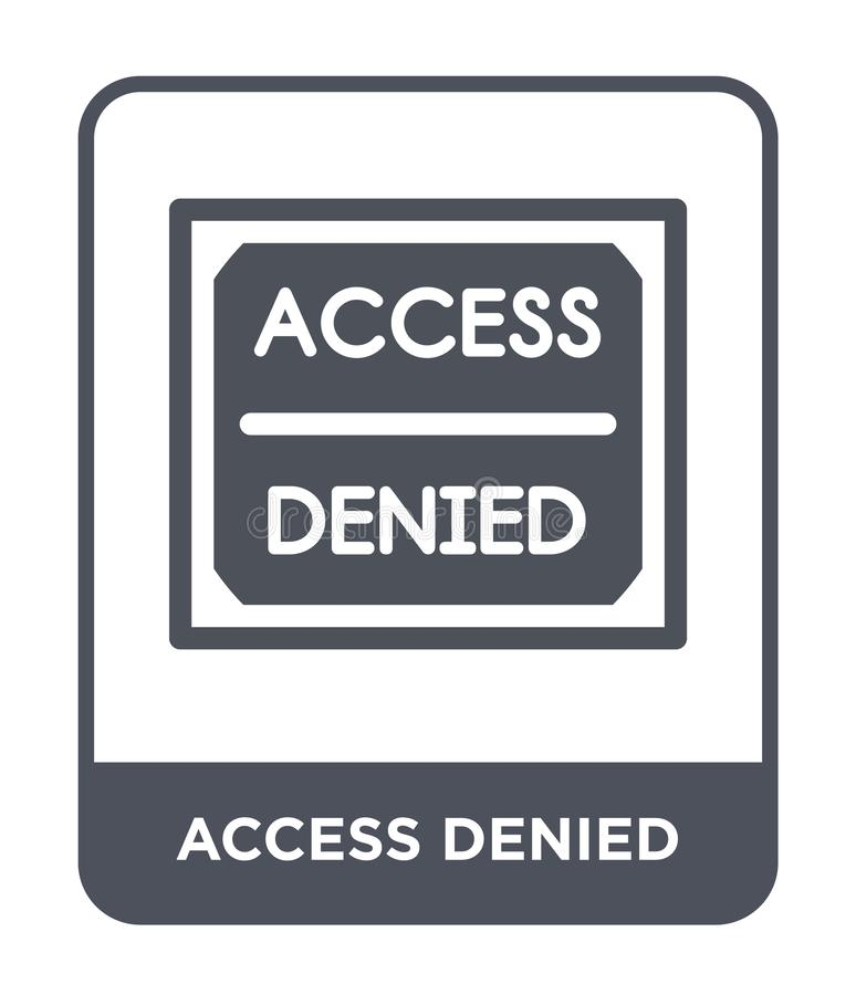 Access Denied Stock Illustrations – 3,700 Access Denied Stock