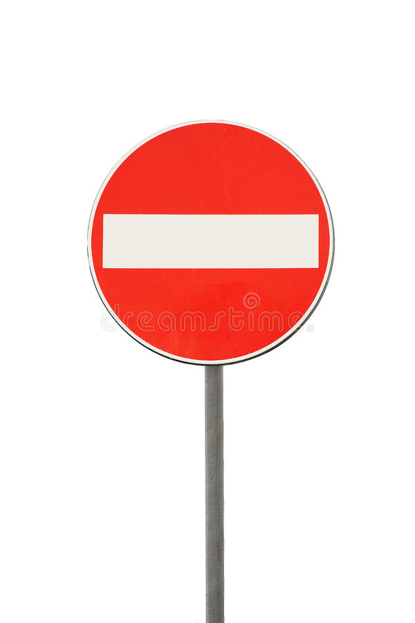 Download Access Interdiction Road Sign Stock Image - Image: 12113011