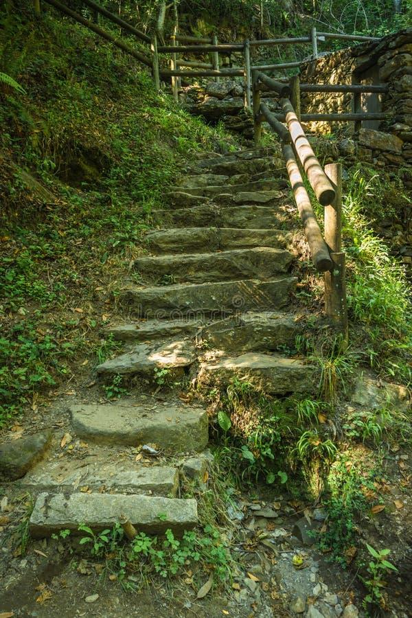 Access ladder to Cabreia`s park in Sever do Vouga, Aveiro, Portu. Gal stock photos