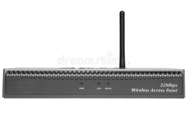 Access Point stock image