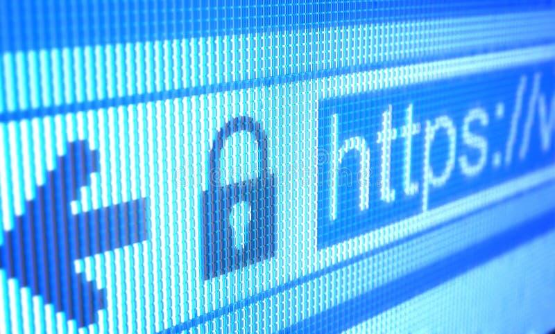 Access Protetto Immagine Stock