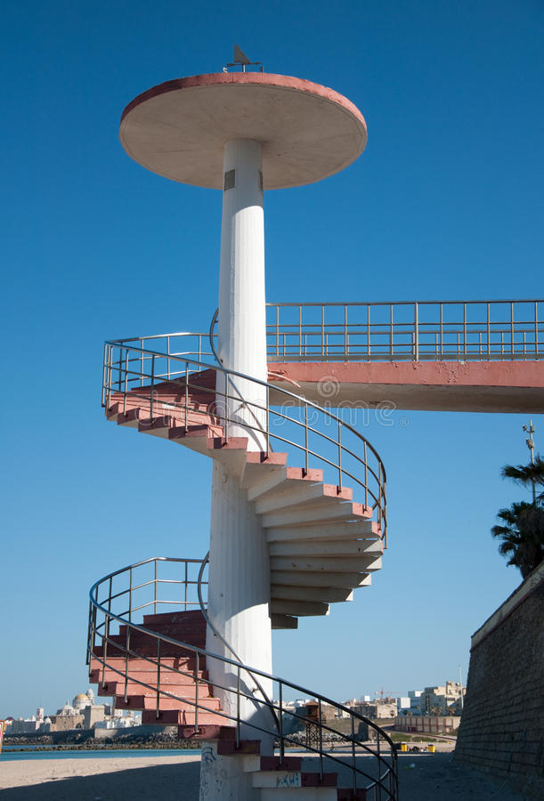 Download Access To The Beach Staircase Stock Photo - Image: 14598408