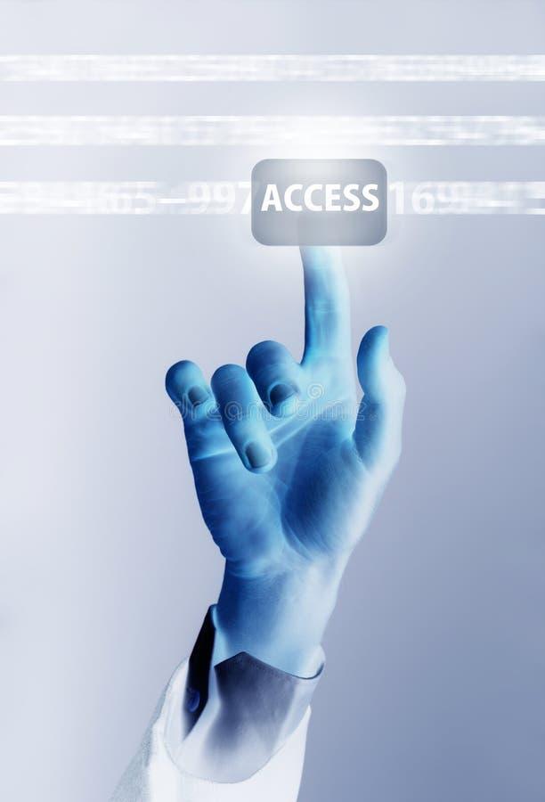 Accesso illustrazione vettoriale