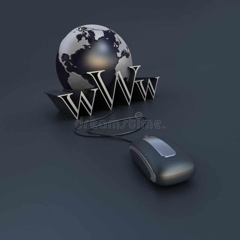 Accesso di Internet illustrazione vettoriale