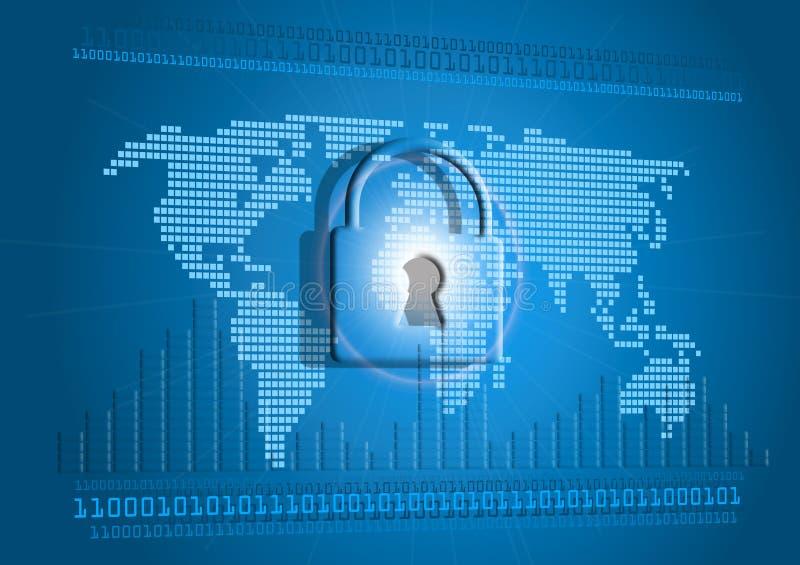 Accesso Internet bloccato immagine stock