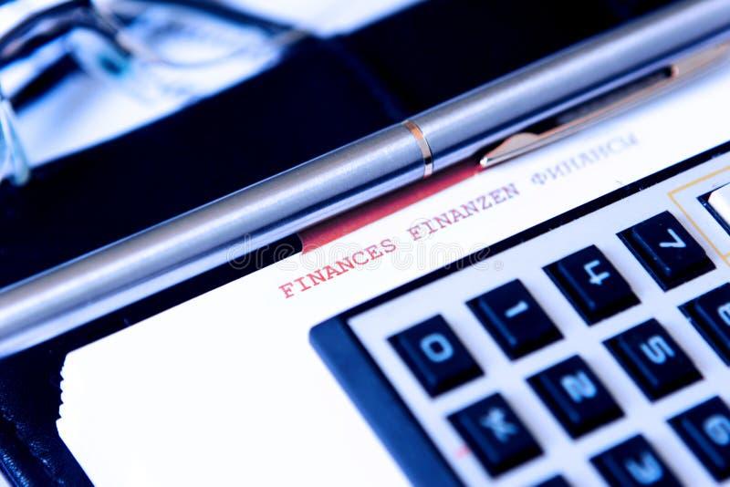 Accessoires d'affaires images libres de droits