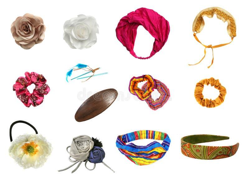 Accessoires de cheveu réglés image stock