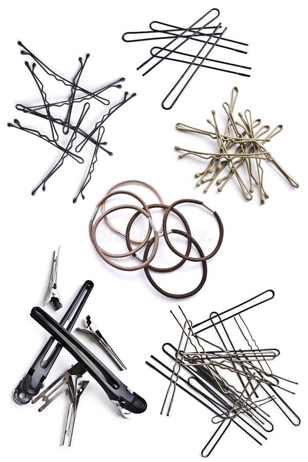 Accessoires de cheveux image libre de droits