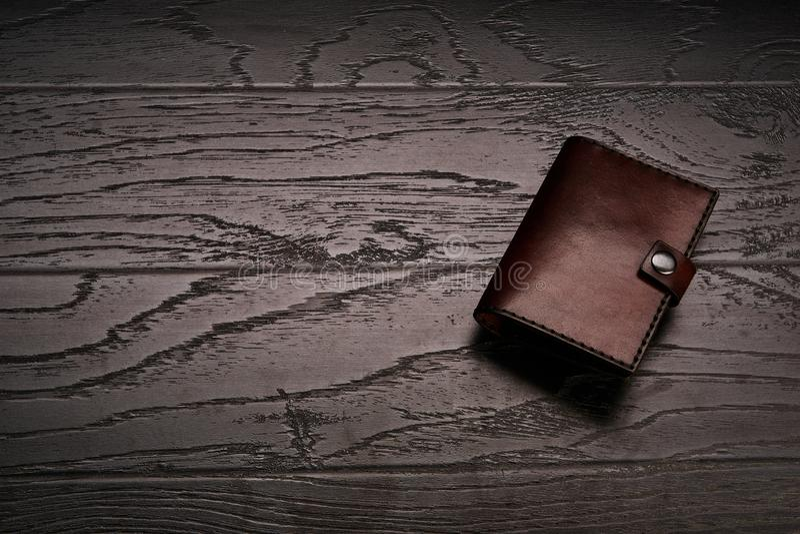 Accessoires de cuir véritable du ` s d'hommes photo libre de droits