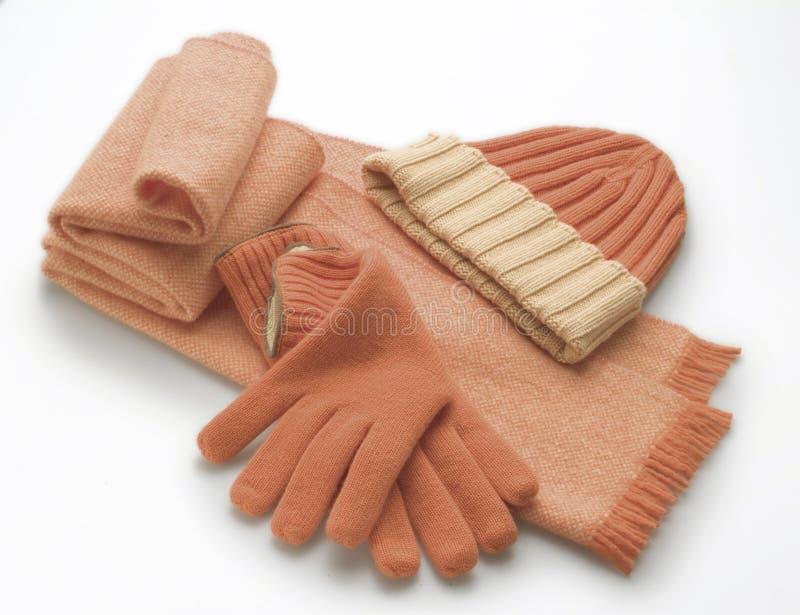 Accessoires de laine photographie stock libre de droits