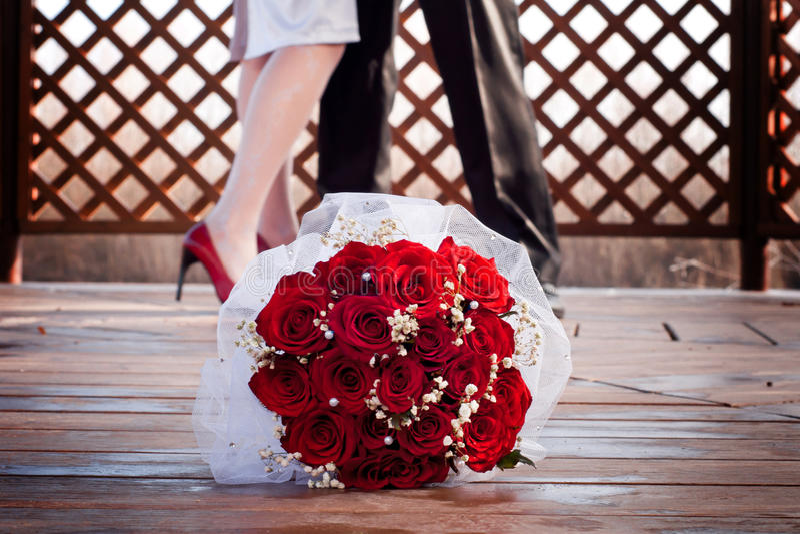 Accessoires de mariage images libres de droits