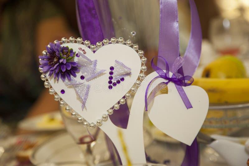 Accessoires de mariage photographie stock libre de droits