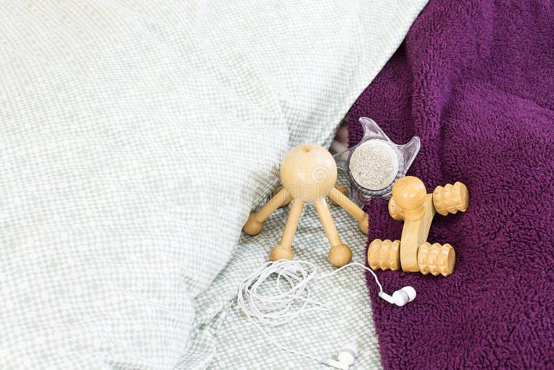 Accessoires de massage image stock