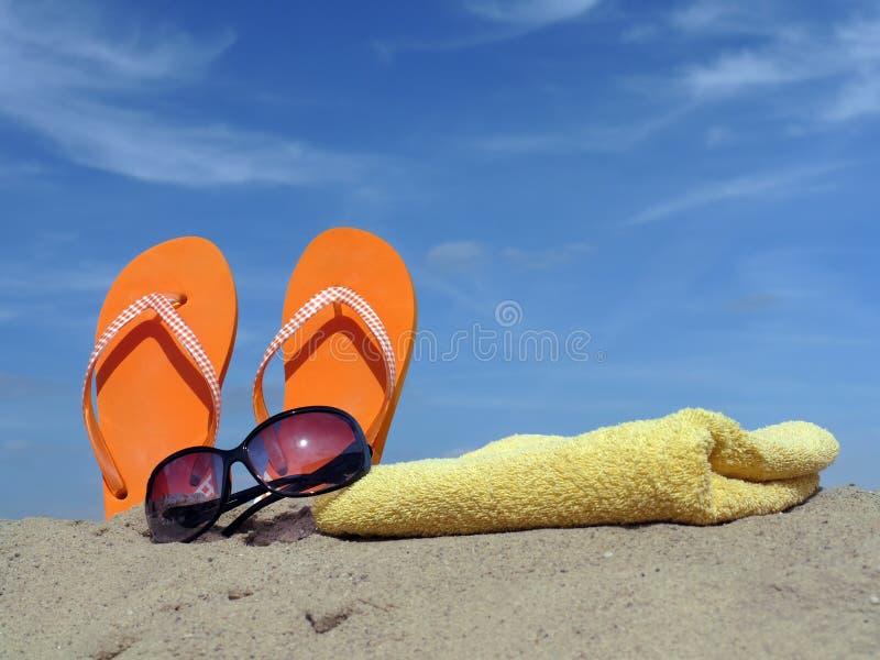 Accessoires de plage photos stock