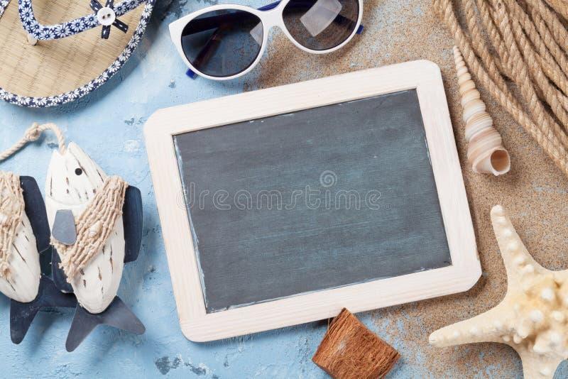 Accessoires de plage images stock
