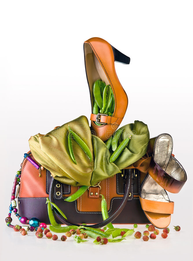 Accessoires végétaux illustration de vecteur