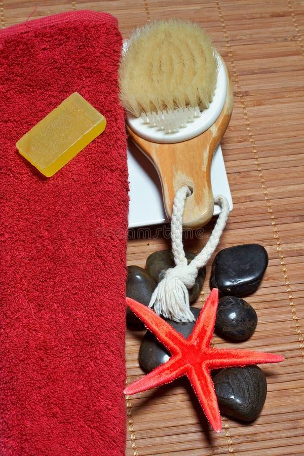 Accessori del bagno fotografie stock