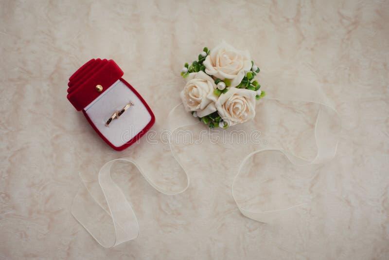 Accessori del ` s della sposa di nozze immagine stock libera da diritti