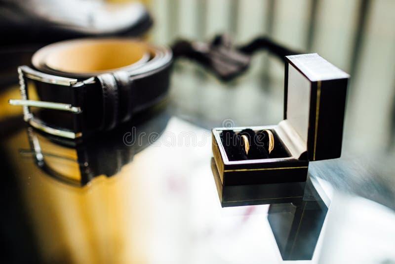 Accessori dell'uomo d'affari Stile del ` s dell'uomo Accessori del ` s degli uomini: ` S degli uomini fotografia stock