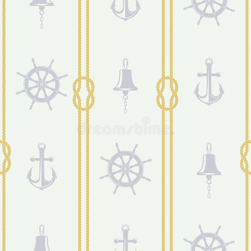Accessori della nave del modello di vettore royalty illustrazione gratis