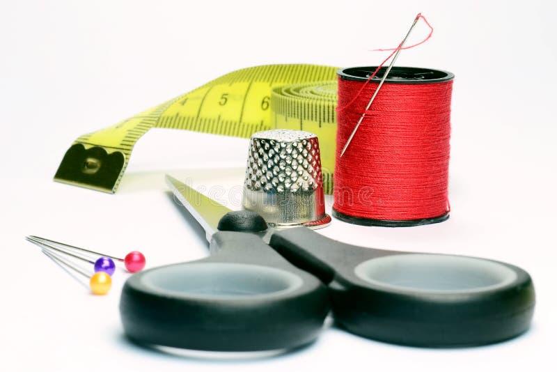 Accessori di Dressmaking fotografia stock libera da diritti