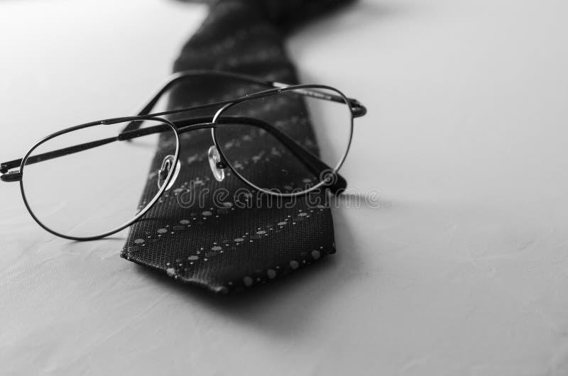 Accessori di modo per un uomo di affari fotografia stock