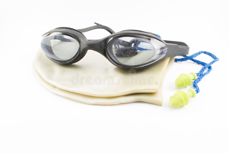 Accessori di nuoto immagine stock libera da diritti